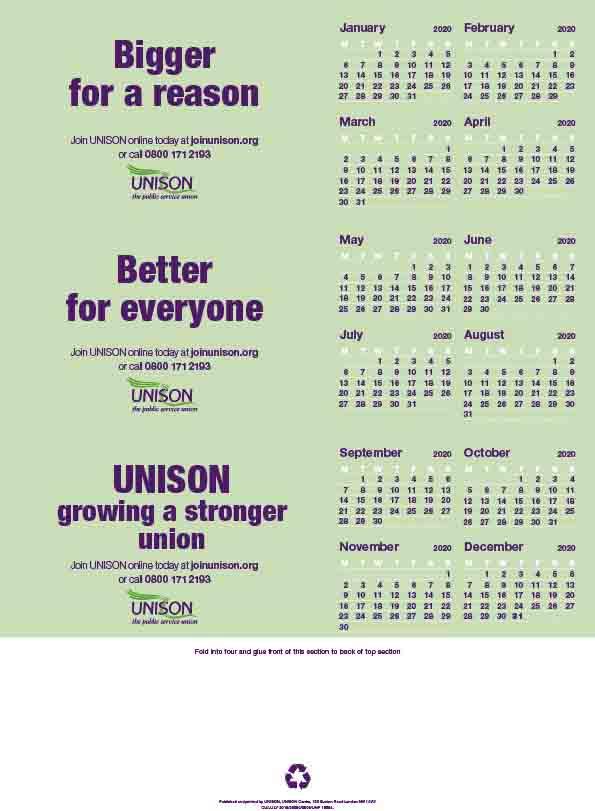 Desk Calendar 2020.Toblerone Desk Calendar 2020
